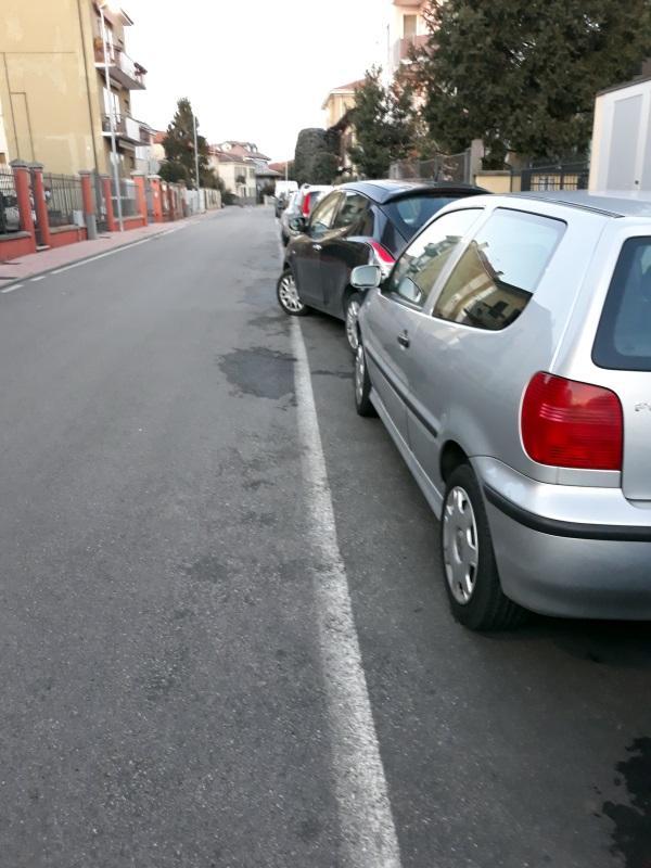 Parcheggio in linea