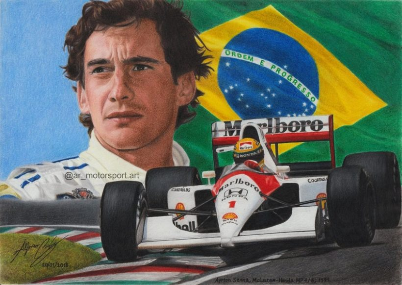 Ayrton Senna maggio