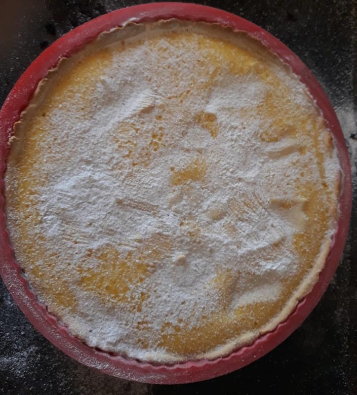 Crostata ricotta limone