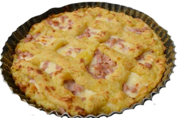 Crostata patate antipasto